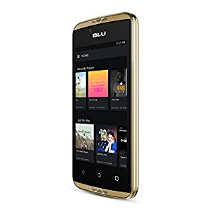 BLU Energy Diamond Mini UK SIM-Free Smartphone with 3000 mAh Battery -Gold