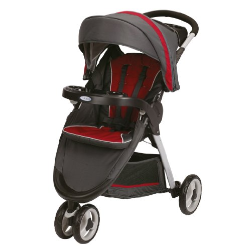 Lowest Price! Graco FastAction Fold Sport Stroller Click Connect Stroller, Chili Red