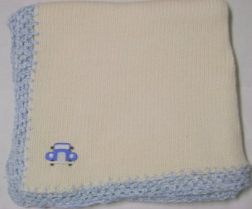 Hand Knitted Baby Blanket back-331755