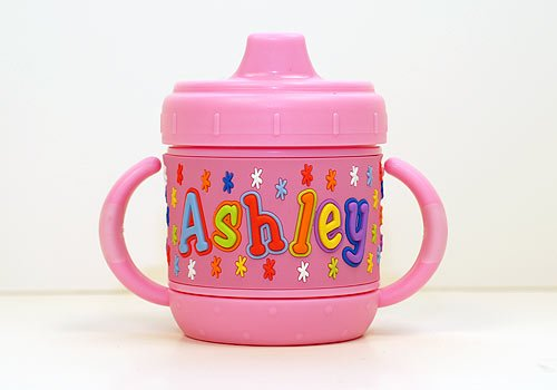 Personalized Sippy Cup: Ashley front-1039988