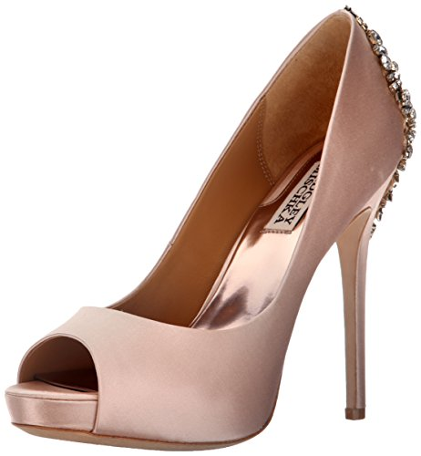 Badgley Mischka Women's Kiara Dress Pump, Pink, 8.5 M US