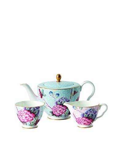 Wedgwood Cuckoo Teapot, Sugar & Cream Set