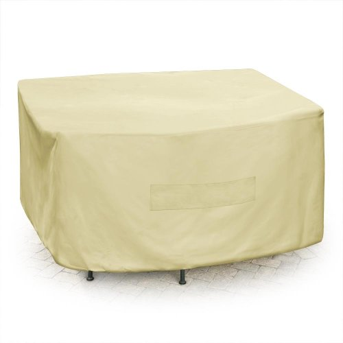 Mr. Bar-B-Q Backyard Basics Eco-Cover PVC Free Premium Square Patio Set Cover