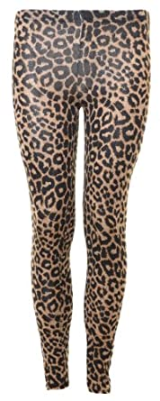 Style Womens Full Leopard Leggings (M/L (10-12))