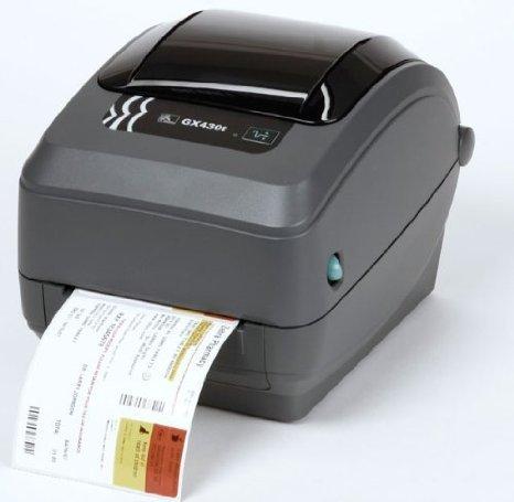 Zebra GX43-102411-000 GX430T Direct Thermal/Thermal Transfer Printer, 300 DPI, Monochrome, 7.5