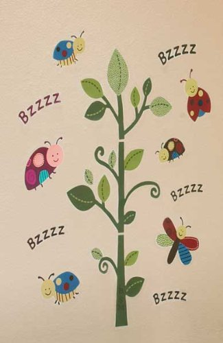 Nojo Critter Babies Wall Decals