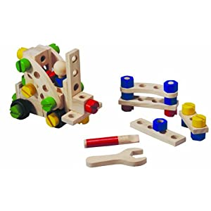 PlanToys 60 Construction Set