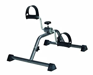 Drive Medical Pedal Exerciser with Attractive Silver Vein Finish, Silver Vein (Knock down)