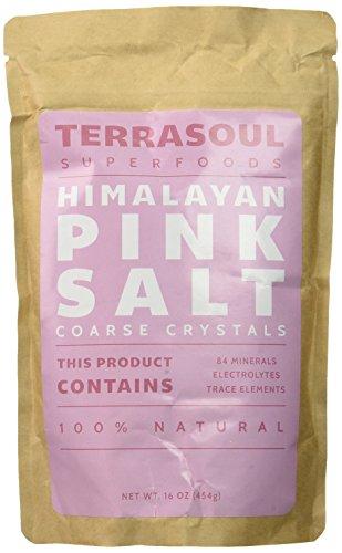 Terrasoul Superfoods Himalayan Pink Salt (Coarse), 16-ounce (Pack of 2) (Himalayan Pink Salt Coarse compare prices)