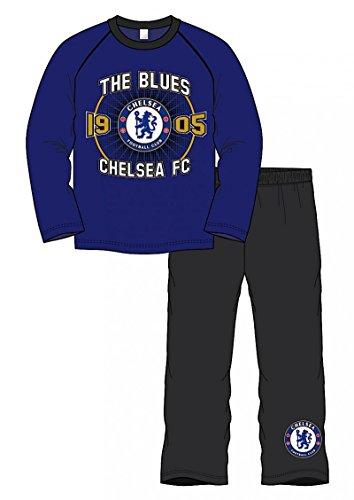 oficial-chelsea-fc-establecio-1905-de-manga-larga-pijamas-tamano-4-5-anos