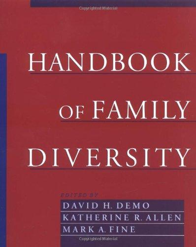 Handbook of Family Diversity