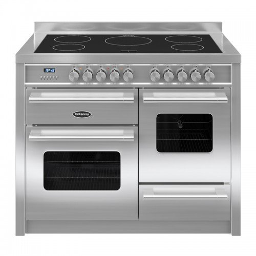 Britannia RC-11XGI-DE-S Delphi 110cm XG Induction Range Cooker