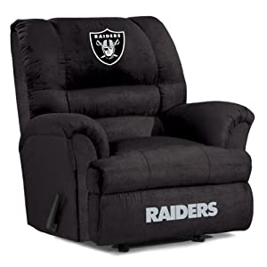 NFL Oakland Raiders Big Daddy Microfiber Recliner by Imperial