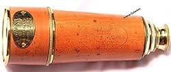 Artshai 16 inch Antique look pullout telescope