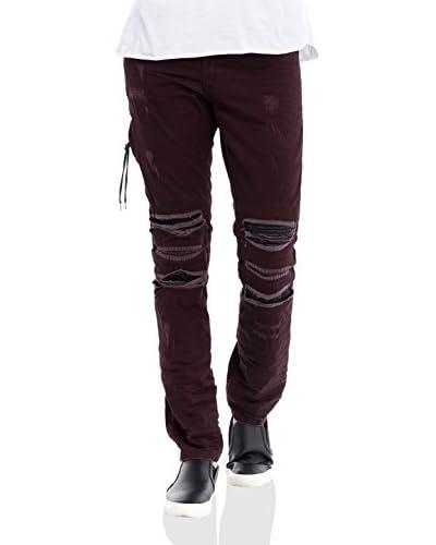 RNT23 Jeans weinrot