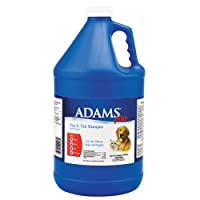 Adams Plus Flea and Tick Dog and Cat Shampoo with Precor, 1-Gallon