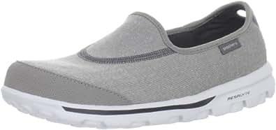 Skechers Go Walk Slip on Shoe,Grey,5 M US