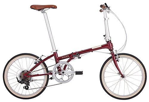 DAHON(ダホン) 折りたたみ自転車 Boardwalk D7 20インチ 7段変速 ボルドー 16BDWKBO00