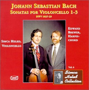 Bach: Sonatas for Violoncello, 1-3 / Heled