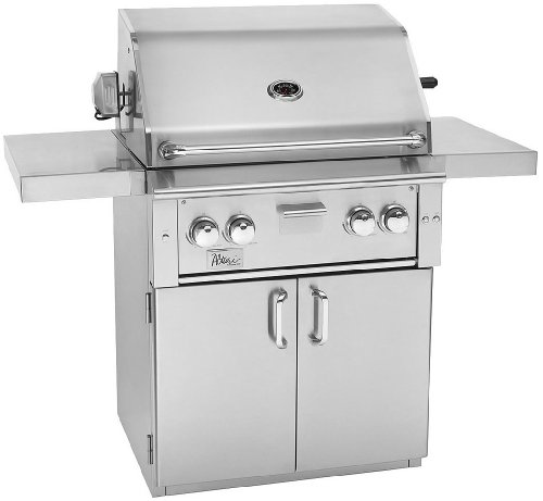 "Alturi 30"" Red Brass Burner Grill And Cart Alt30Rbb Natural Gas"