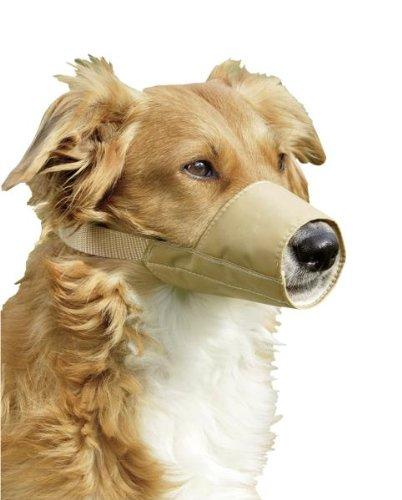 Bild: KARLIE Maulkorb NYLON beige für Hunde Gr 4 240cm