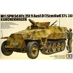 German Sdkfz 251-9 Kanowagen Military Model Kit