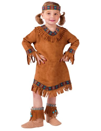 American Indian Girl Toddler Costume 24M - Toddler Halloween Costume - Funworld