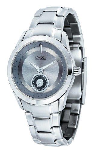 Mens Fashion Silver Dress Watch by London Underground LU-102012-A