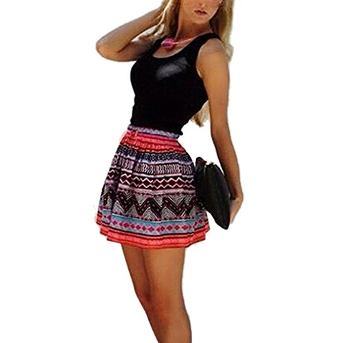 Bestnow Women's Summer Short Sleeveless Slim Evening Party Cocktail Mini Dress (S)