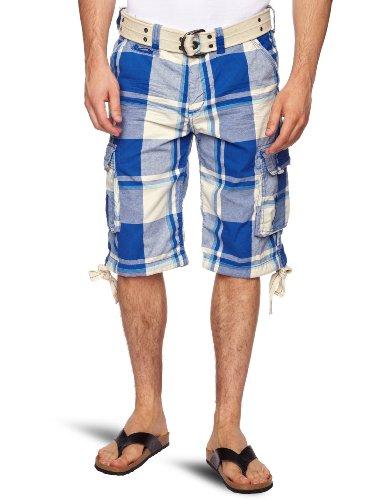 Kaporal Winda Men's Shorts Blue Check W28 IN