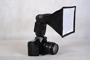 Mcoplus - Portable Universal Photo Flash Diffuser Softbox for Speedlights, 6 x 8 Inches- Easy to use - for Canon, Nikon, Olympus, Pentax, Sony, Sigma, Minolta Metz Sigma Sunpak, Yongnuo & Other External Flash Units,YN-460,YN-465,YN-560,580ex,420ex,380ex,430ex,SB-900,SB-800,SB-600