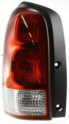 Evan-Fischer EVA15672019349 Tail Light Driver Side LH Plastic lens OE design Clear and red DOT, SAE approved (Pontiac Montana Tail Lights compare prices)
