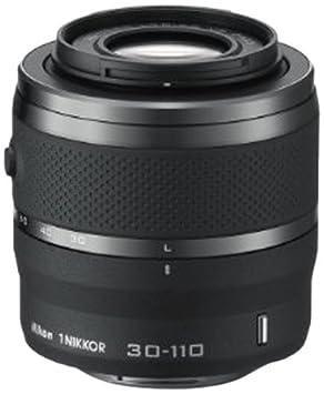 Nikon JVA703DA Objectif 1 Nikkor VR 30-110 mm f/3.8-5.6 Noir Mat