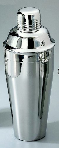 Get Stainless Steel Non Tarnish 24 Oz Cocktail Shaker - 8.5