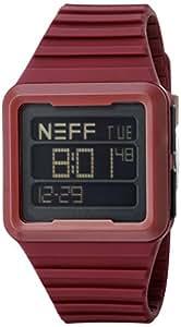 Amazon.com: Neff Odyssey Digital Watch Maroon: Watches