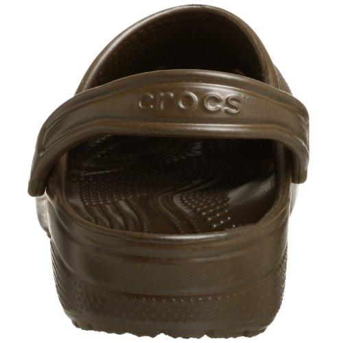 crocs Unisex Classic Clog,Chocolate,9 M US Men's / 11 M US Women's