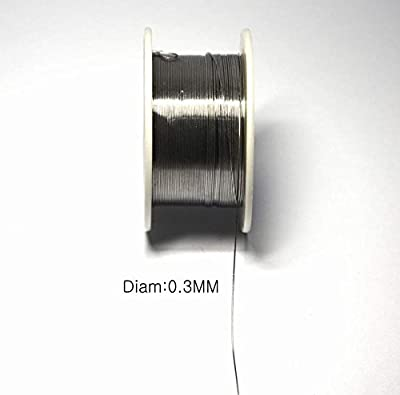 LampVPath Solid Solder 0.3mm Dia Flux Core 63% Tin 37% Lead Long Wire Reel