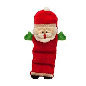 Kyjen Outward Hound Invincible Santa 5 Squeaker