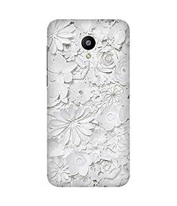 White Flowers Meizu M2 Case