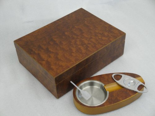 Humidor - set hold 20 cigars hygrometer best quality