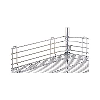 "Metro L42N-4C Super Erecta Chrome Plated Steel Stackable Ledge, 42"" Width x 4"" Height"