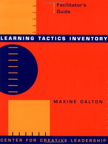 Learning Tactics Inventory, includes sample copy of Participant's Workbook: Facilitator's Guide