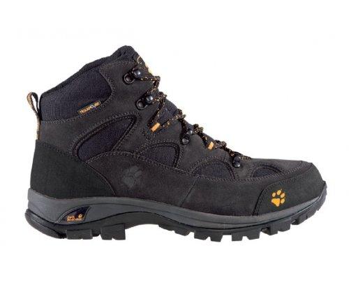 JACK WOLFSKIN Men's All Terrain Texapore Trekking Boots, Black, UK7.5