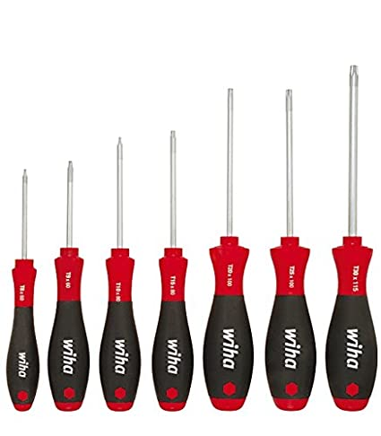 Wiha 01299 SoftFinish Torx Screwdriver Set (7 Pc)