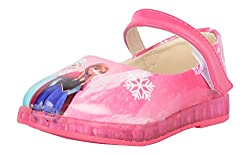 Happy Bachpan Girls Pink Synthetic Mary Jane - 25 EU
