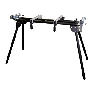 Wolf Adjustable Universal Folding Mitre Saw Work Bench Compatible Makita DeWalt - Fully adjustable length extensions 1200mm - 2000mm