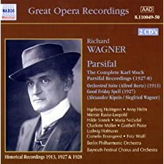 Wagner: Parsifal: The Complete Karl Muck Parsifal Recordings (1927 - 1928) / Orchestral Suite (Alfred Hertz) (1913)