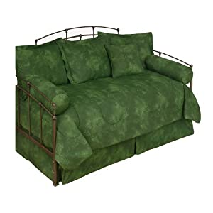 Amazon Com Rain Forest Green Daybed Bedding Set