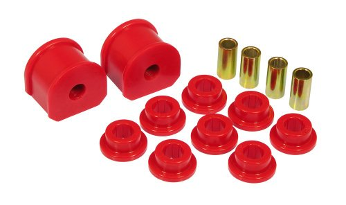 Prothane 6-1114 Red 16 mm Rear Sway Bar Bushing Kit (Bushing For 97 F150 compare prices)