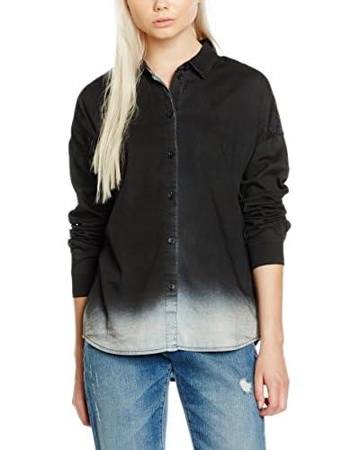 Cheap Monday Camisa Mujer Maze Negro Lavado